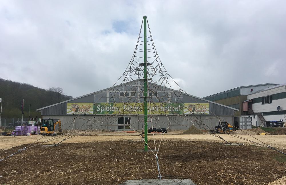 LALINO Biergarten Plus - Bauphase 1